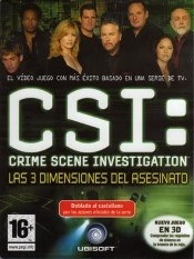 C.S.I.: Las 3 dimensiones del asesinato
