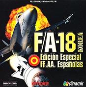 F/A-18 Korea: Edición especial FF. AA. españolas
