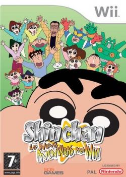 Shin Chan: ¡Las nuevas aventuras para Wii!