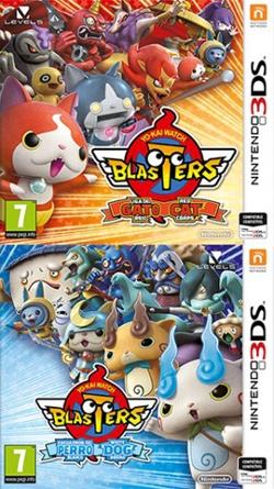 Yo-kai Watch Blasters: Liga del Gato Rojo/Escuadrón del Perro Blanco